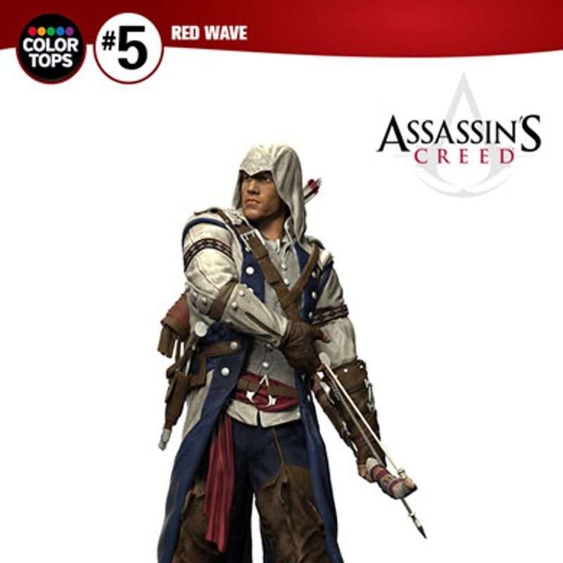 Connor - Assassin's Creed - Color Tops Actionfigur 18cm