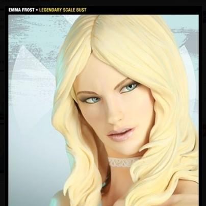 Emma Frost - Legendary Scale Bust