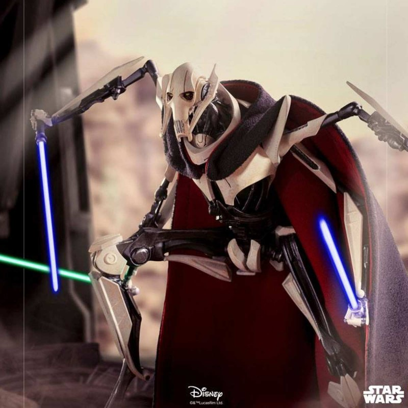 General Grievous - Star Wars - Deluxe BDS Art Scale 1/10 Statue