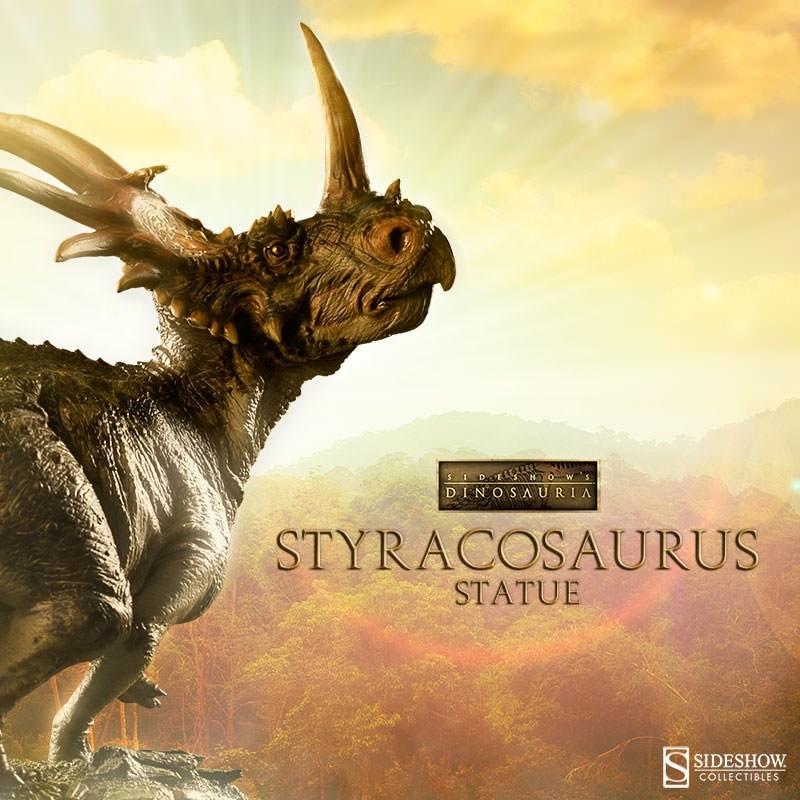 Styracosaurus - Dinosaurier - Polystone Statue