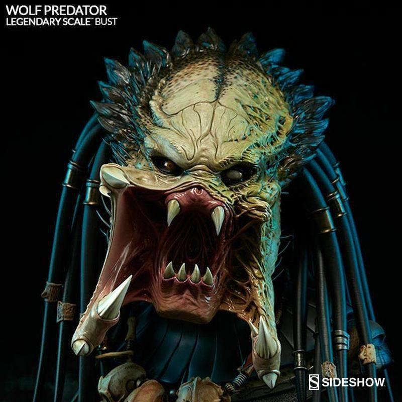 Wolf Predator - Legendary Scale Bust