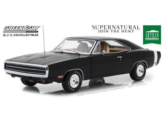 1970 Dodge Charger - Supernatural - Diecast Modell 1/18