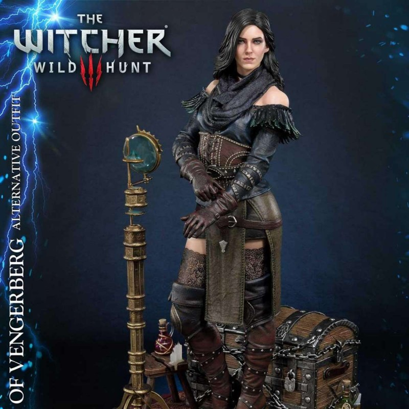 Yennefer von Vengerberg Alternative Outfit - Witcher 3 Wild Hunt - 1/4 Scale Polystone Statue