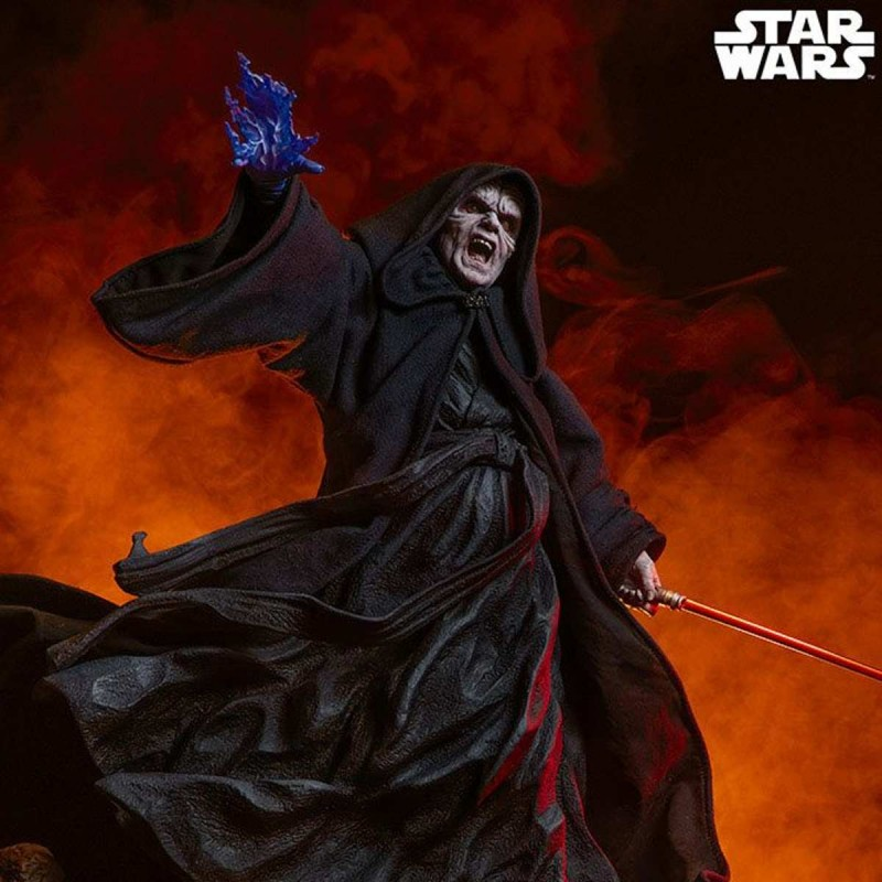 Darth Sidious - Star Wars - Polystone Statue