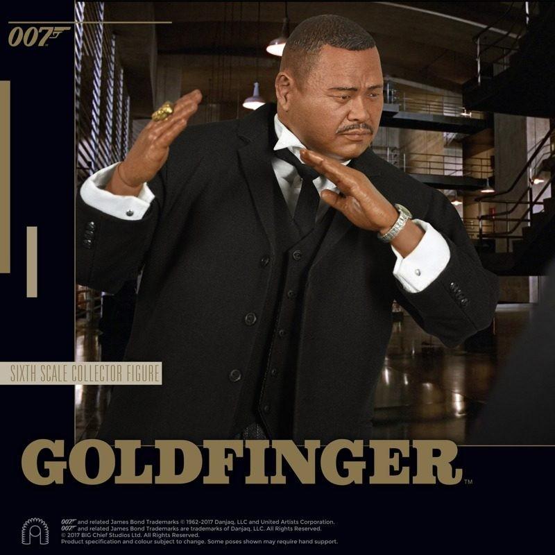 Oddjob - James Bond Goldfinger - 1/6 Scale Figur
