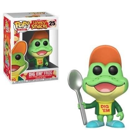 Dig'em Frog - Honey Smacks - POP! Vinyl Figur