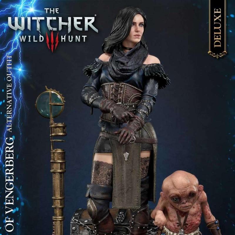 Yennefer von Vengerberg Alternative Outfit Deluxe Version - Witcher 3 Wild Hunt - 1/4 Scale Polyston