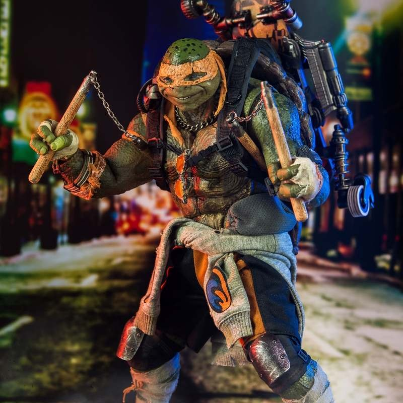 Michelangelo - TMNT (Out of the Shadows) - 1/6 Scale Action Figur