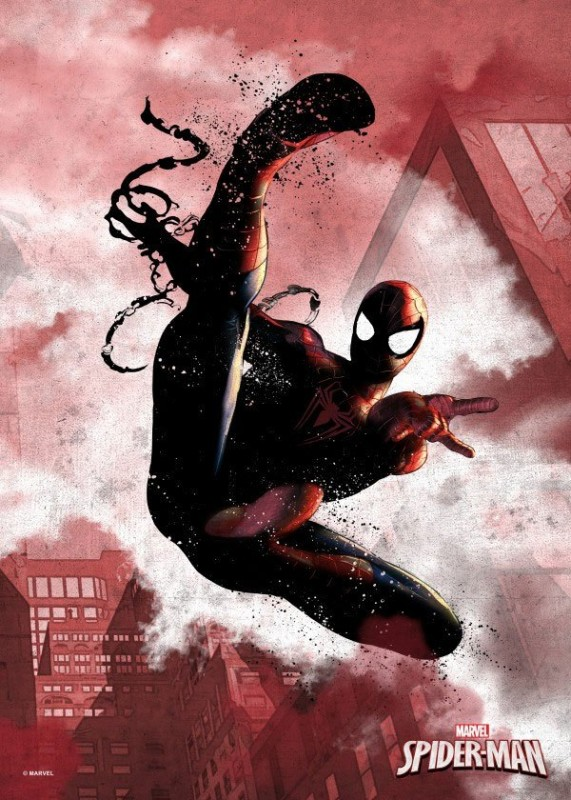 Spider-Man - Marvel Comics - Metall-Poster