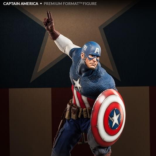 Captain America - Premium Format Statue