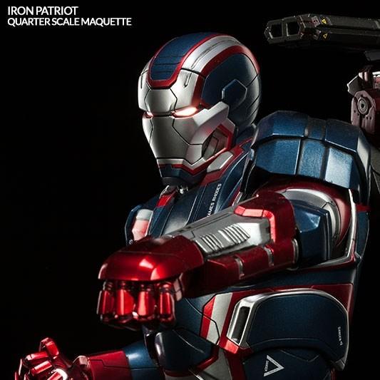 Iron Patriot - Iron Man 3 - Quarter Scale Maquette
