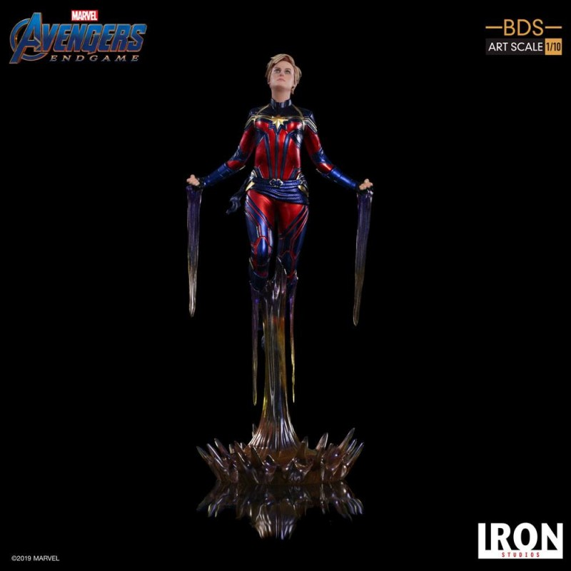Captain Marvel - Avengers: Endgame - BDS Art 1/10 Scale Statue