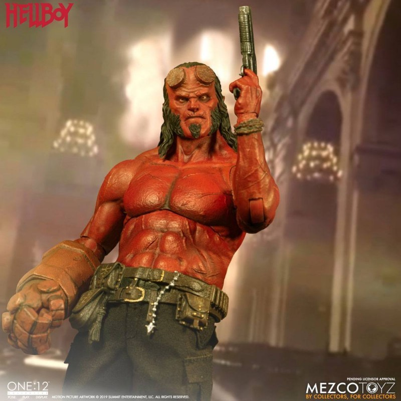 Hellboy - Hellboy (2019) - 1/12 Scale Figur