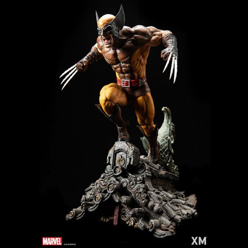 Wolverine (Brown) - Marvel Comics - 1/4 Scale Premium Statue