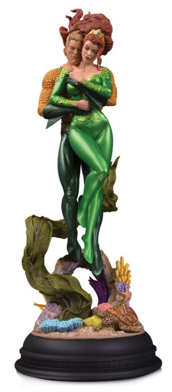 Aquaman & Mera by Pat Gleason - DC Comics - Designer Series Statue