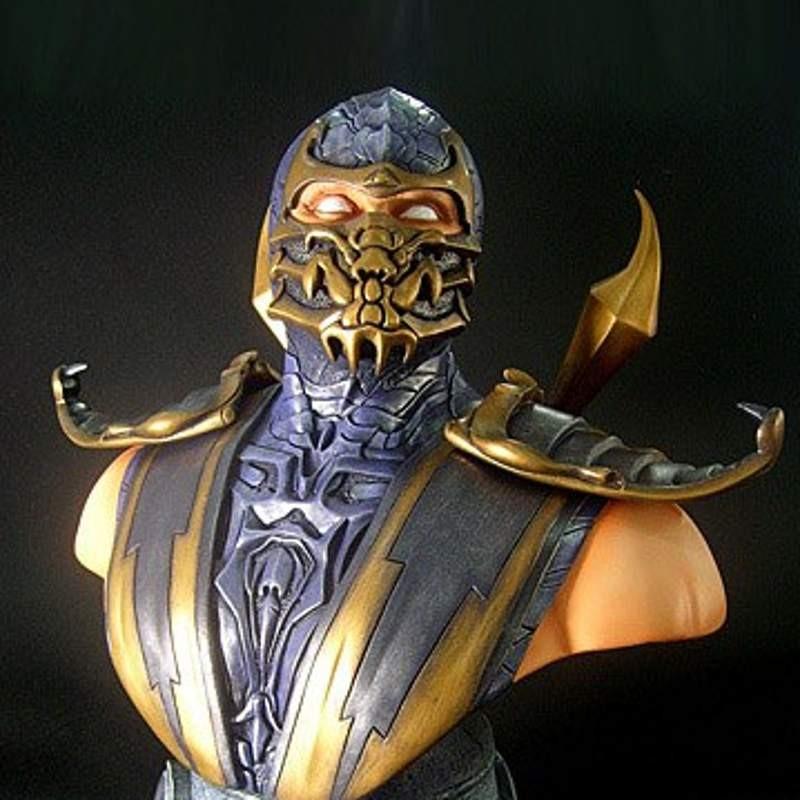 Scorpion - Mortal Kombat 9 - 1/2 Scale Büste