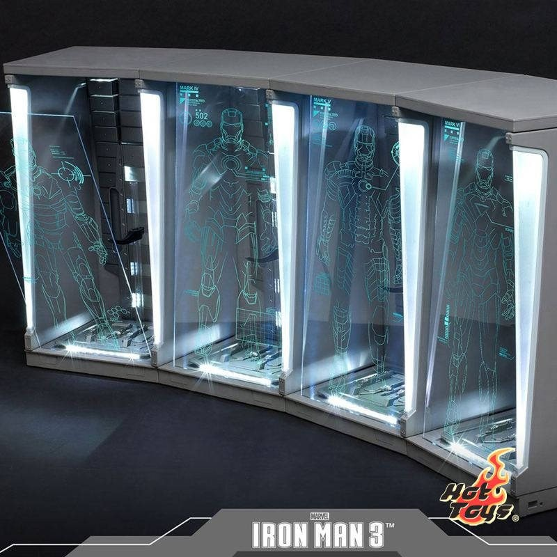 Hall of Armor (Set of 4) - Iron Man 3 - 1/6 Scale Zubehör