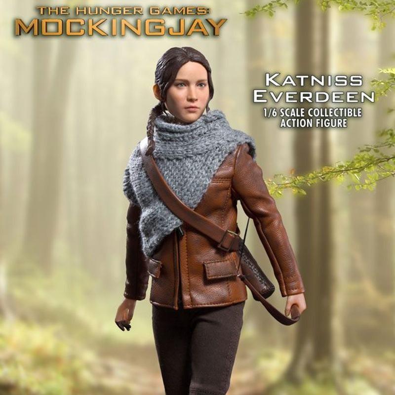 Katniss Everdeen Hunting Version - Die Tribute von Panem - 1/6 Scale Actionfigur