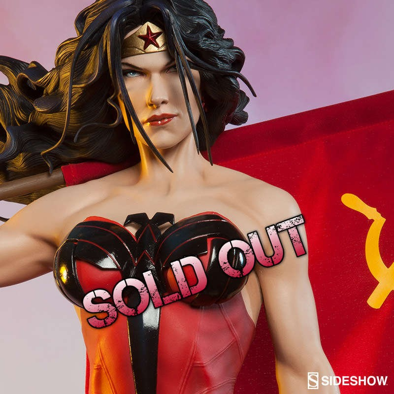 Wonder Woman Red Son - Premium Format Statue