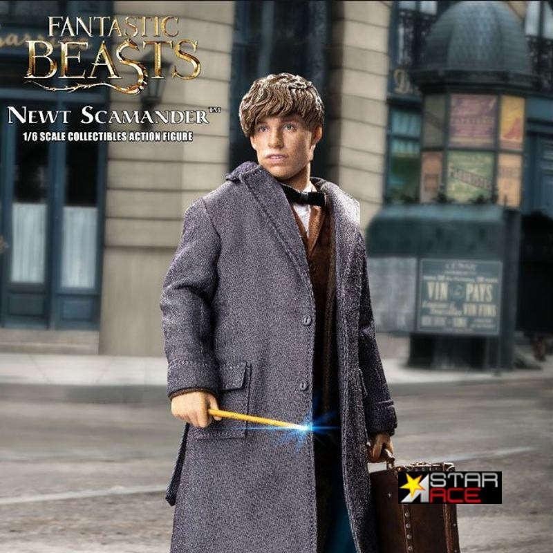 Newt Scamander Grey Coat - Phantastische Tierwesen - 1/6 Scale Actionfigur