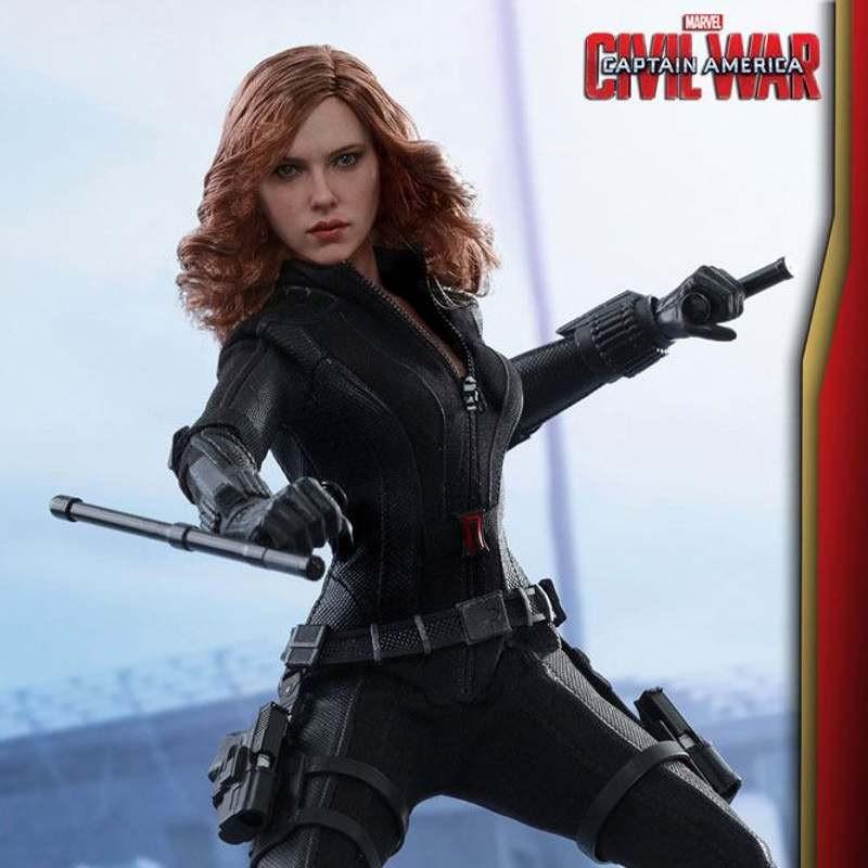 Black Widow - Civil War - 1/6 Scale Action Figur