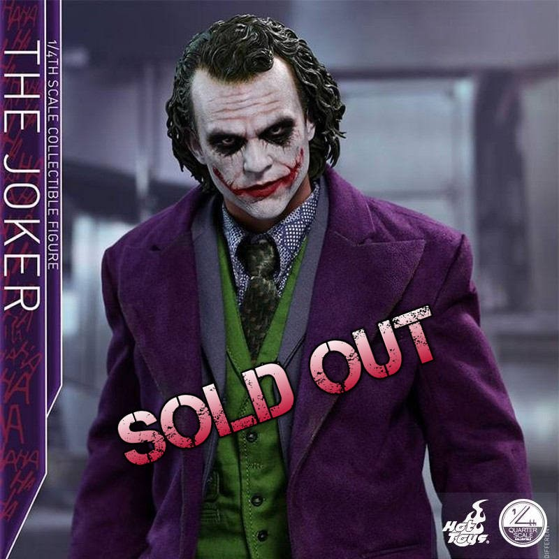 The Joker - The Dark Knight - 1/4 Scale Collectible Figur
