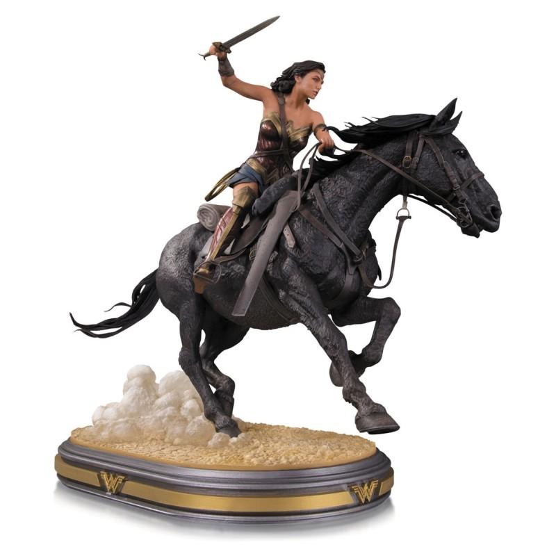 Wonder Woman on Horseback - Wonder Woman - Resin Statue