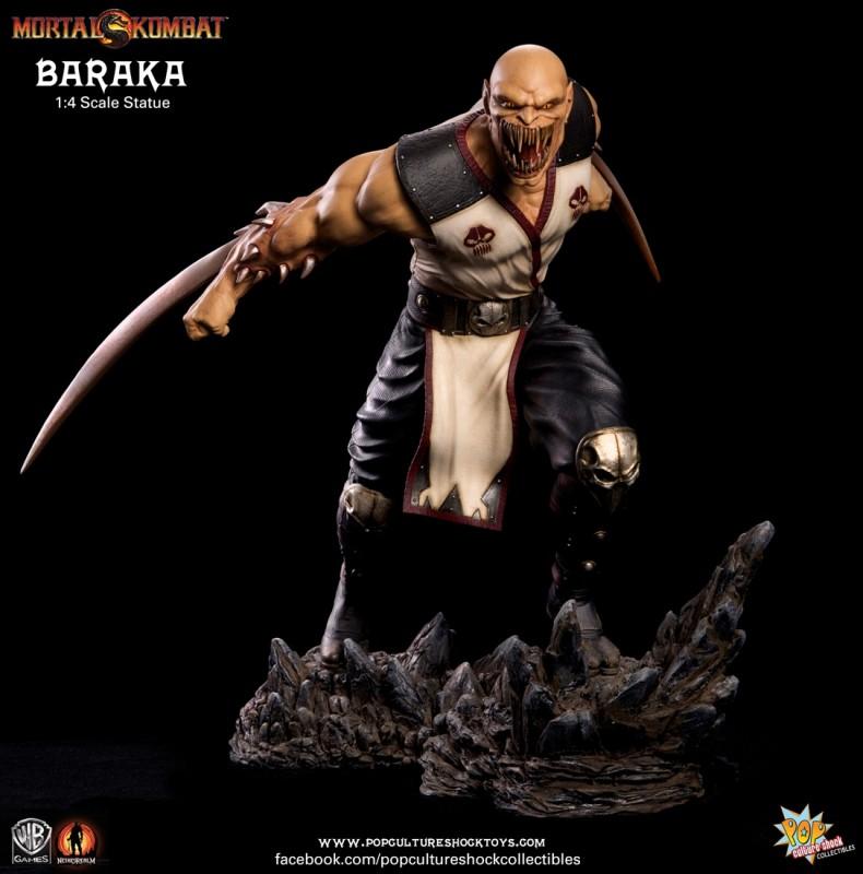 Baraka - Mortal Kombat - 1/4 Scale Statue