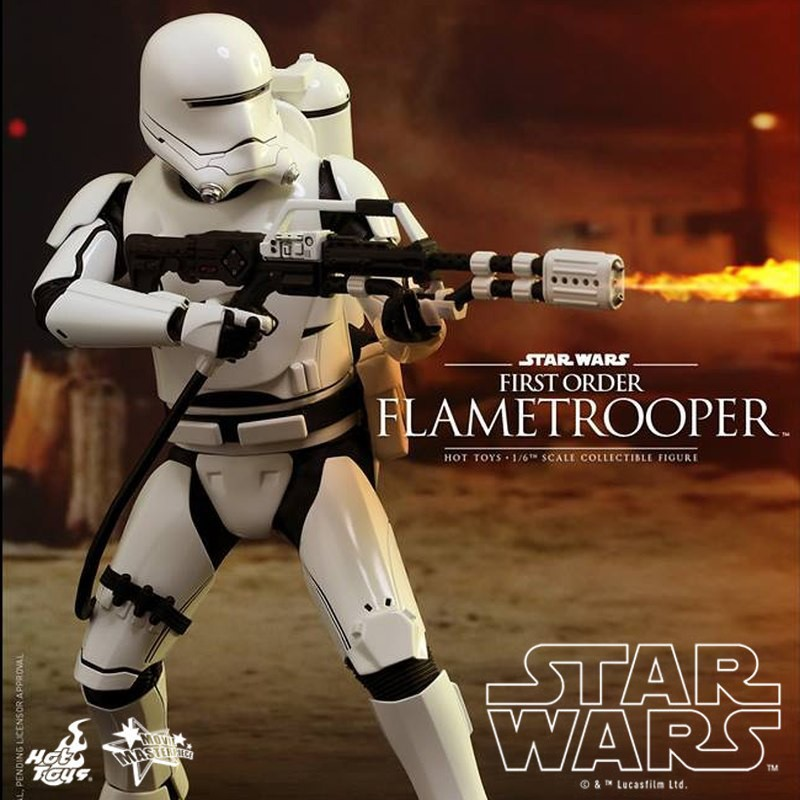 First Order Flametrooper - Star Wars - 1/6 Scale Figur