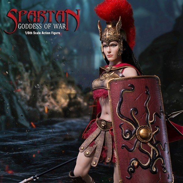 Spartan Goddess of War - 1/6 Scale Actionfigur