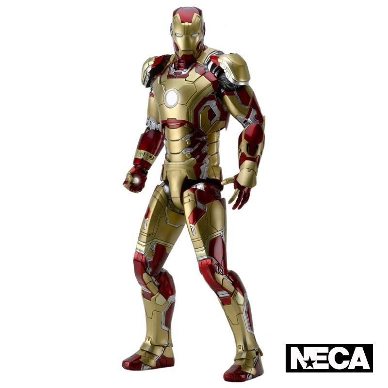 Iron Man Mark XLII - Iron Man 3 - 1/4 Scale Actionfigur