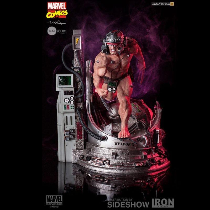 Weapon X - Marvel Comics - 1/4 Scale Legacy Replica Statue