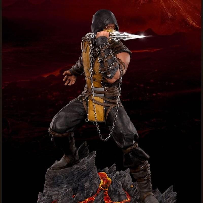 Scorpion - Mortal Kombat - 1/4 Scale Regular Statue