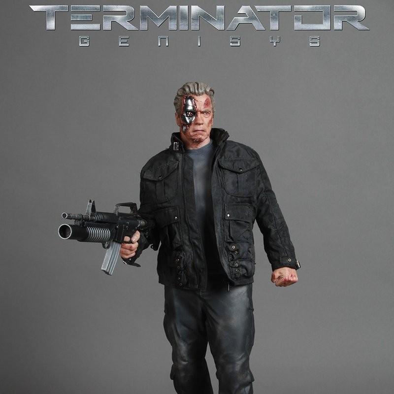 T-800 Guardian - Terminator Genisys - 1/4 Scale Statue