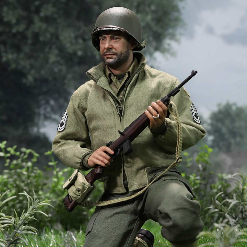 Sergeant Horvath - WWII US 2nd Ranger Battalion Series 5 - 1/6 Scale Actionfigur