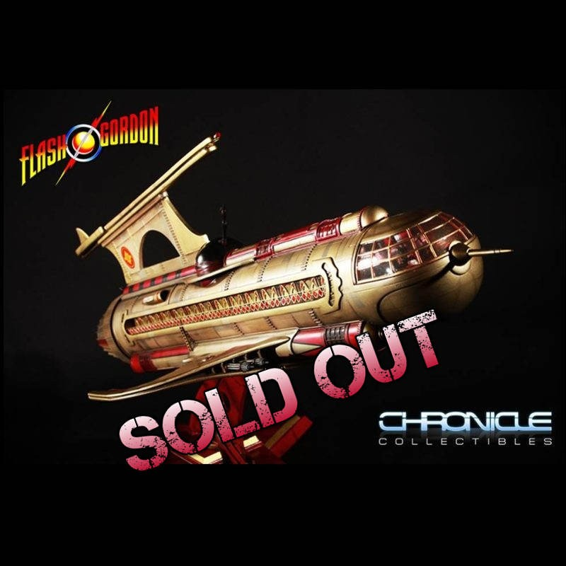 War Rocket Ajax - Flash Gordon - Replica