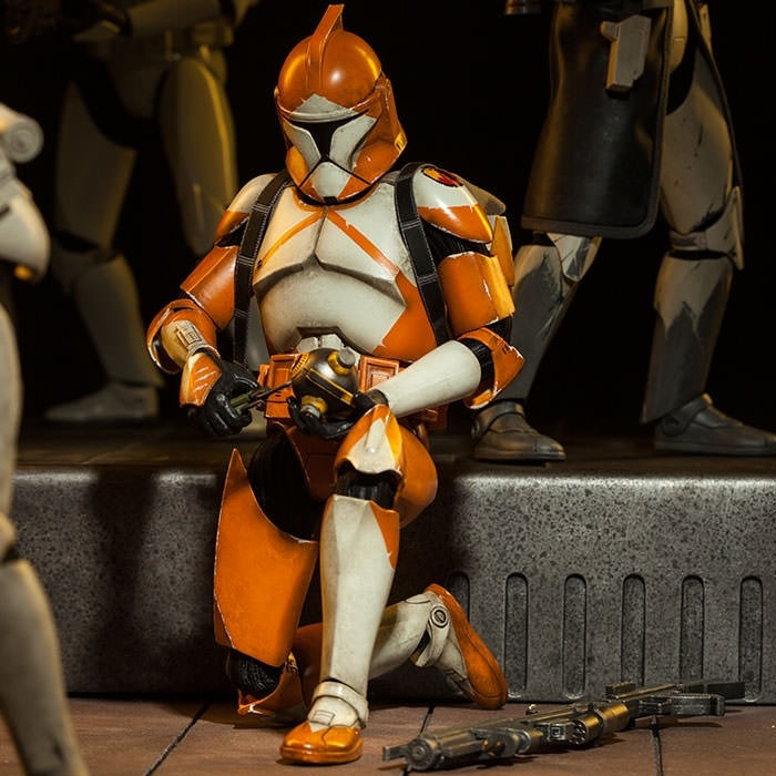 Bomb Squad Clone Trooper - Star Wars - 1/6 Scale Figur