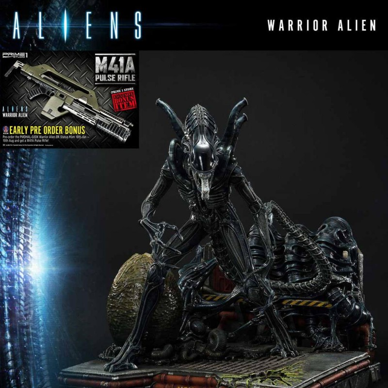 Warrior Alien (Deluxe Bonus Version) - Aliens - Polystone Statue