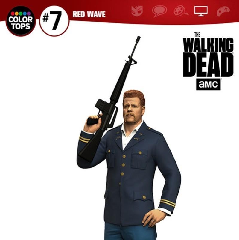 Abraham - The Walking Dead - Color Tops Actionfigur