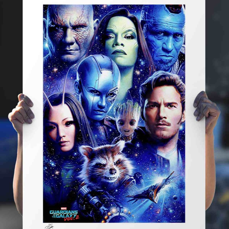 Guardians of the Galaxy Vol 2 - Marvel - Kunstdruck 46 x 61 cm