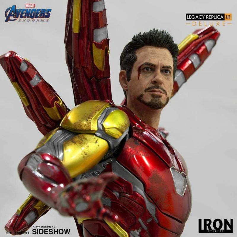 Iron Man Mark LXXXV Deluxe Version - Avengers: Endgame - 1/4 Scale Legacy Replica Statue