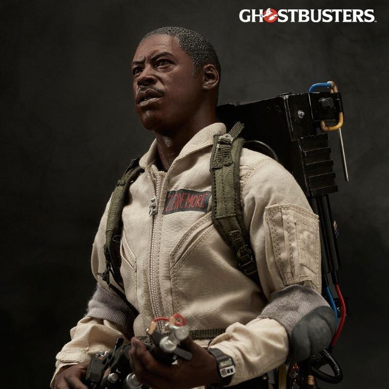 Winston Zeddemore - Ghostbusters - 1/6 Scale Figur
