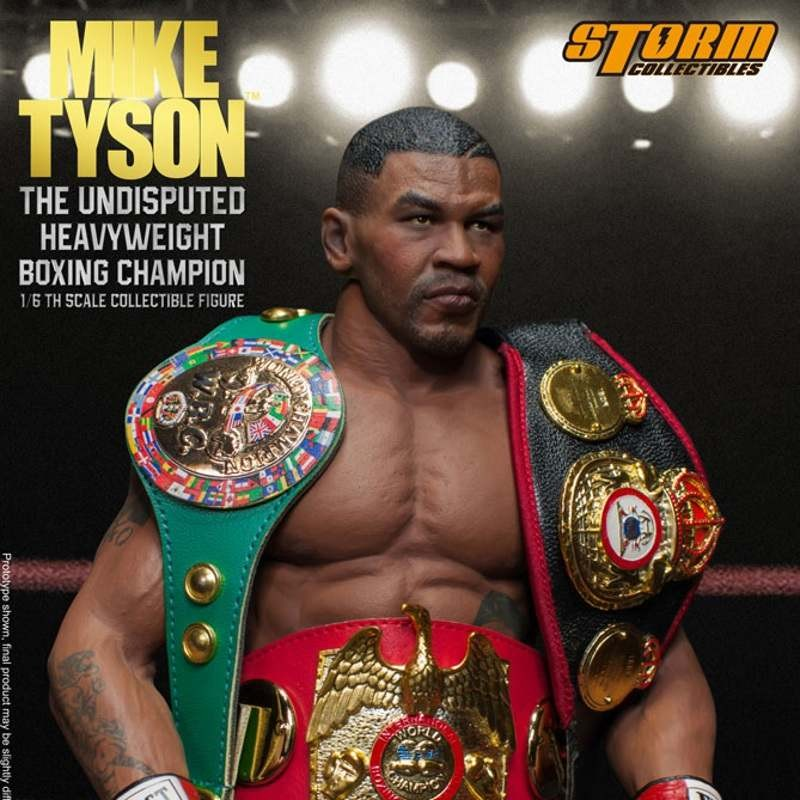 Mike Tyson - The Undisputed Heavyweight Champion - 1/6 Scale Figur