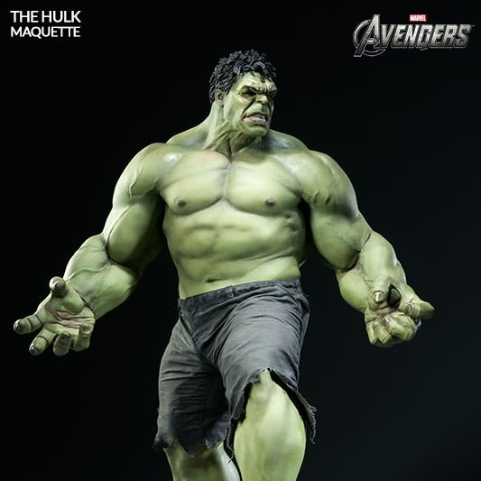 The Hulk - The Avengers - Maquette