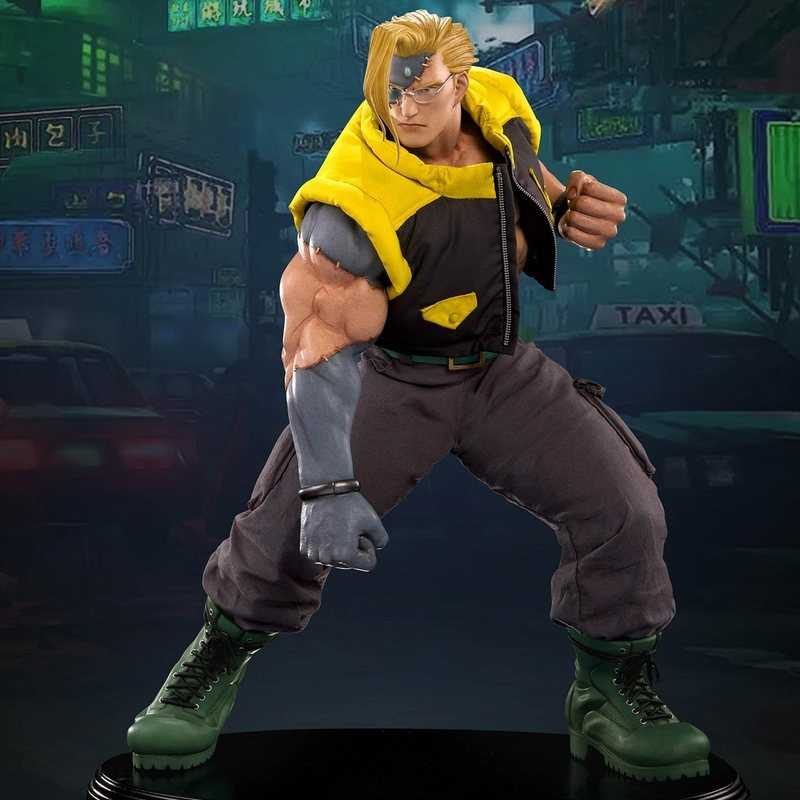 Nash - Street Fighter - 1/4 Scale Statue