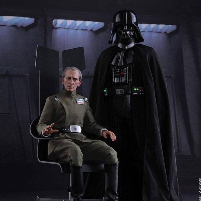 Tarkin & Vader - Star Wars Episode IV - 1/6 Scale Figuren Set