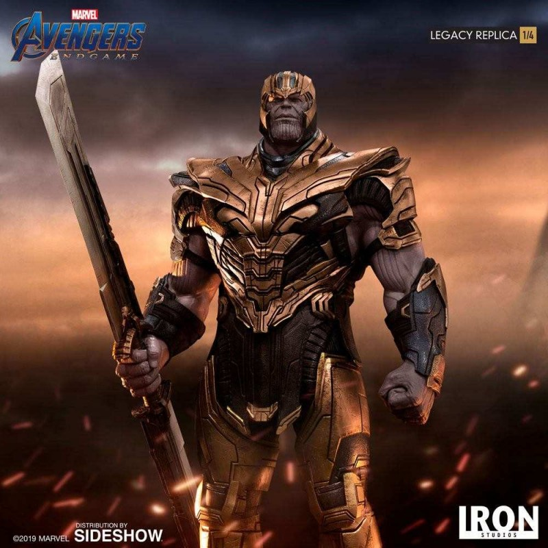 Thanos - Avengers: Endgame - 1/4 Scale Legacy Replica Statue