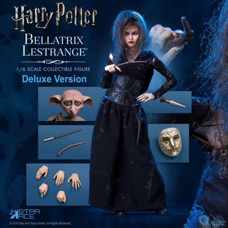 Bellatrix Lestrange Deluxe Version - Harry Potter - 1/6 Scale Actionfigur