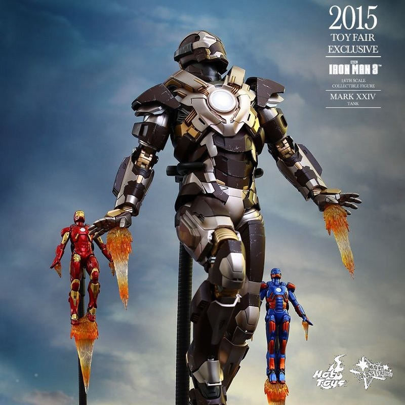 Tank (Mark XXIV) - Iron Man 3 - 1/6 Scale Action Figur