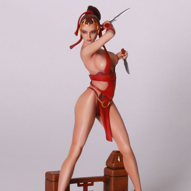 Red Assassin (Wei Ho) - 1/6 Scale Statue